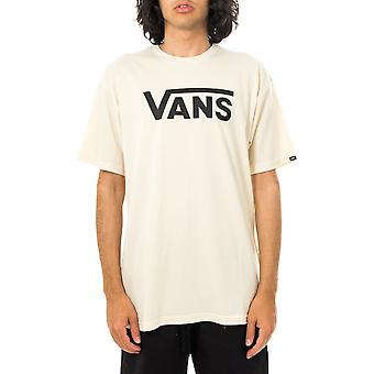 T-shirt uomo vans mn vans classic seed pearl/black vn000gggz5p