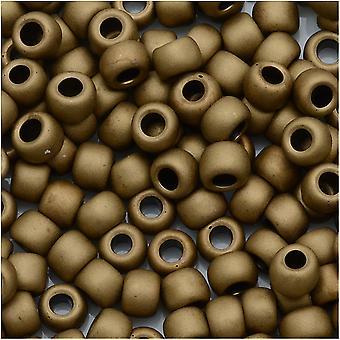 חרוזי זרעים עגולים Toho 6/0 #221F - ברונזה חלבית (8 גרם)