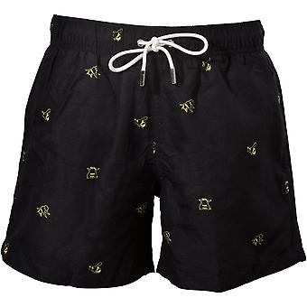 Apres Bumblebee Swim Shorts, Black