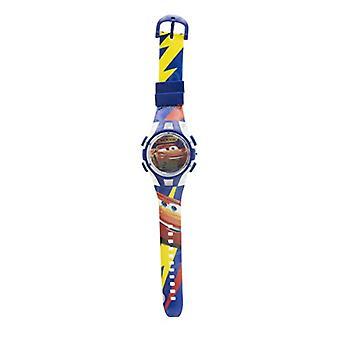 ديزني سيارات للجنسين الطفل التلقائي ساعة رقمية مع حزام من البلاستيك 19121