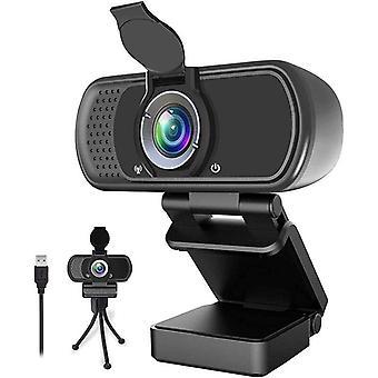 1080p Full Hd Фиксированный фокус ПК веб-камера с микрофоном Обложка