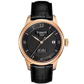 Tissot klocka le locle kronometre automatisk - cosc certifierad (controle officiel suisse des kronometres) t0064083605700