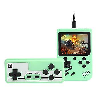 Vihreä 800 pelit mini retro video konsoli kädessä pidettävät pelaajat cai766