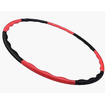Red+black kids hoola hoop,8 knots adjustable hoola hoop for kids,hoola hoop toy for sports az8412