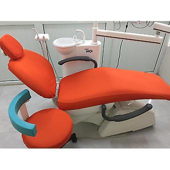 Pomarańczowy Dental Unit Krzesło Pokrycie Tkaniny Dentysta Stołek Protector Rękawy zmywalne