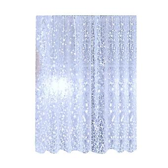 As shown pebbles shower curtain special waterproof mildew shower curtain for home hotel dt3811