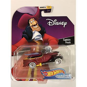 hot hjul karakter biler kaptein krok disney 1:64 skala ggx61