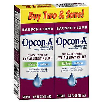 Bausch And Lomb Bausch + Lomb Opcon-A Eye Allergy Relief Drops, 1 Oz