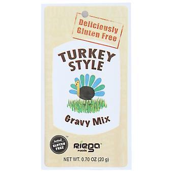 Riega Mix Gravy dinde, Boîtier de 8 X 0,7 Oz