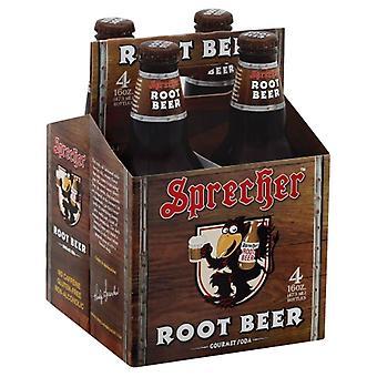 Sprecher Soda Root Beer 4Pk, Case of 6 X 64 Oz