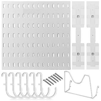 10pcs/set Pegboard Combination Kit Include 28cm Pegboard Panel   Hook Pan Cover Holder