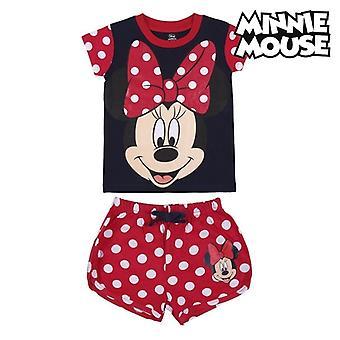 Детская пижама Минни Маус Красная