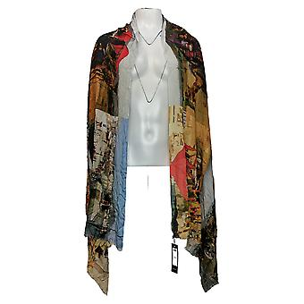 Tolani Collection Printed Scarf Green Regular A382643
