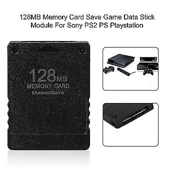 Ps2 Psプレイステーションのためのソニーのための128mbメモリカードセーブゲームデータスティックモジュール