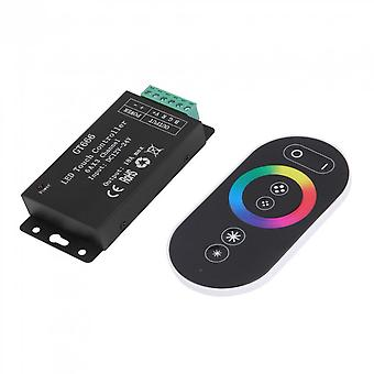 Touch Controller Dc12v-24v 18a Rf draadloze dimmer voor Rgb Led Strip Light