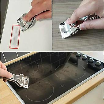 Blade Scraper Window Paint Label Tool Remover Razor Glass Tile Cleaner 5 Cuchillas