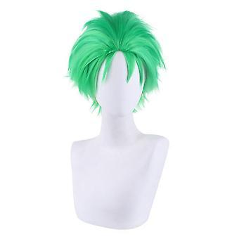 Parrucche berretto un pezzo roronoa zoro partito parrucche per capelli sintetici