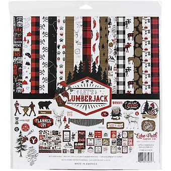 "Echo Park Collection Kit 12""X12"" - Let's Lumberjack"