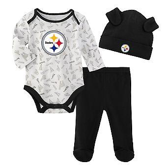NFL Newborn Baby Set - LITTLE Pittsburgh Steelers