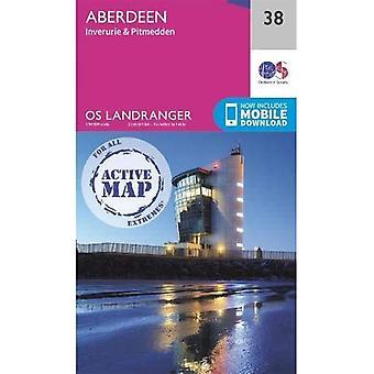 Aberdeen (OS Landranger Actief)