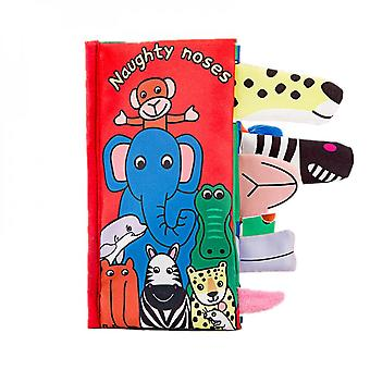 Baby Soft Cloth Naughty Noses Book