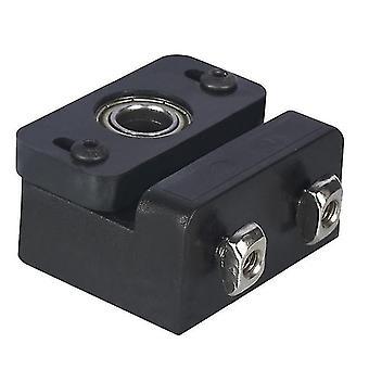 3D printer accessories z axis lead screw fixing block aluminum block 3d printer lead screw fix mount for z5 z6 z8 z10 z-rod