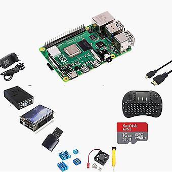 Raspberry Pi 4 4gb Komplette Starter Pro Kit mit 16gb Micro Sd Karte (4gb Ram)