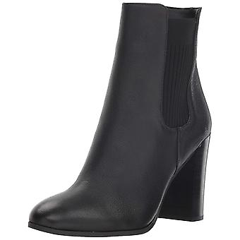 Kenneth Cole New York Womens Justin Leather Almond Toe Ankle Fashion Boots