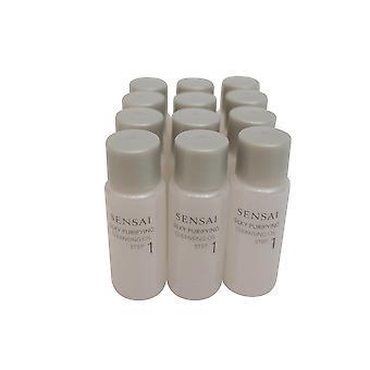SENSAI Silk Purifying Cleansing Oil Reiseset, 0,27 Oz x 12