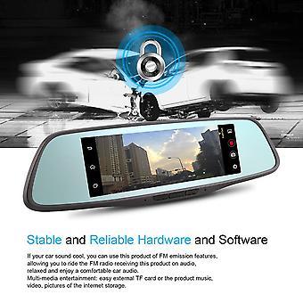 8 Polegada 4g 1080p Condução Carro Retrovisor Retrovisor Dual Lens GPS Navegador