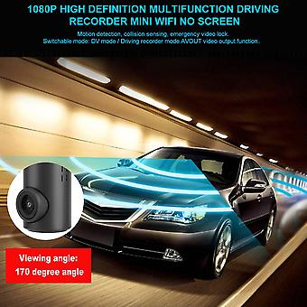 1080p High Definition Multifunction Driving Recorder Mini Wifi No Screen