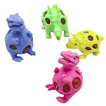 4pcs Dinosaur Squishy Legetøj Dejlig Fidget Legetøj Stress Reliever