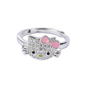 Moda Platinum placat inel de bijuterii Totem deschiderea reglabile logodna cadou de nunta inel de vacanță cadou