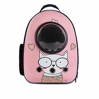 Pink Puppy Portable Pet Backpack