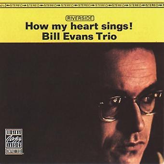 Bill Evans Trio - hur mitt hjärta sjunger! [CD] USA import