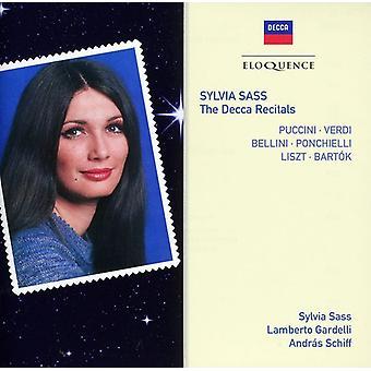 シルビア サス - シルビア サス: デッカ リサイタル [CD] USA 輸入