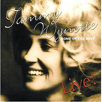 Tammy Wynette - Some of the Best-Live! [CD] USA import