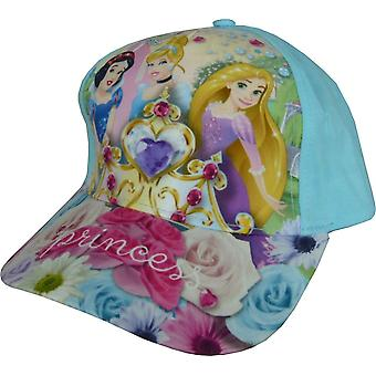 Boné de beisebol princesa de Disney meninas com costas ajustável