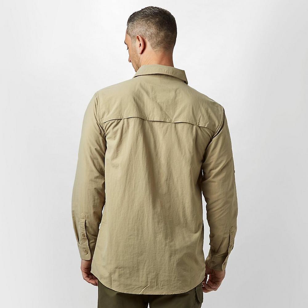 New Brasher Men's Travel Backpacking Long Sleeve Travel Shirt