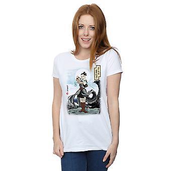 Star Wars kvinder den sidste Jedi japanske Rey T-Shirt