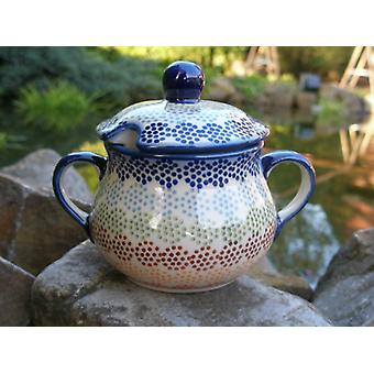 Sugar Bowl, height 10 cm, diameter 12 cm, Pastelka, BSN J-2682