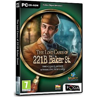 The Lost Cases of 221B Baker Street (PC CD) - New