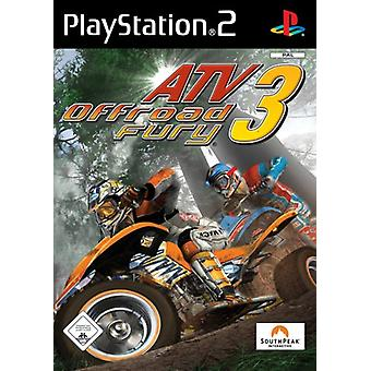 ATV Offroad Fury 3 (PS2) - New Factory Sealed