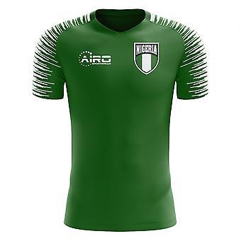 2020-2021 Nigeria Home Concept Voetbalshirt