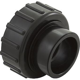"Waterco WC122257BLK 1.5""Slip 2"" Trimline Half Union with O-Ring"