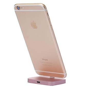 Dock stand for Apple iPhone 7 7 plus 6 S 6 & 6 6 S plus iPhone SE Rose Gold