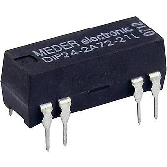 StandexMeder Electronics DIP24-2A72-21L Reed relay 2 makers 24 V DC 0.5 A 10 W DIP 8