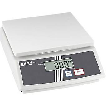 Kern FCE 6K2N Table top scales Weight range 6 kg Readability 2 g mains-powered, battery-powered