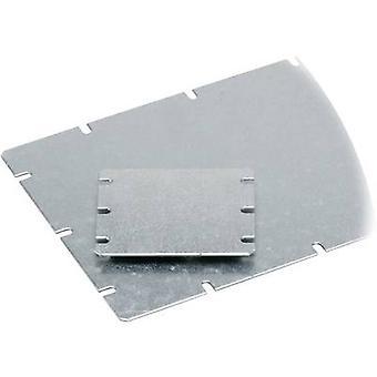 Fibox MIV 100 Asennuslevy (L x L) 98 mm x 48 mm Teräslevy Vaaleanharmaa 1 kpl