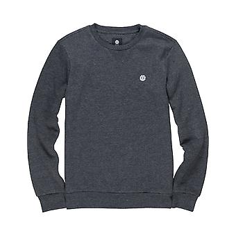Element Cornell Classic sweatshirt i Charcoal Heathe